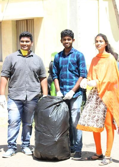 Karpagam Architecture - Student at Social Activities