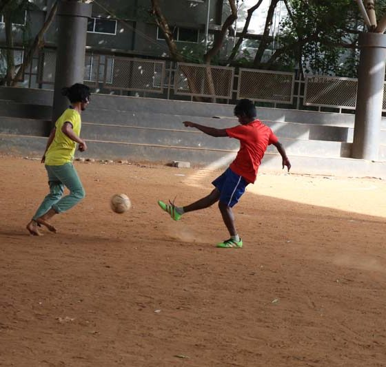 Karpagam Architecture - Student at Playing on Ground