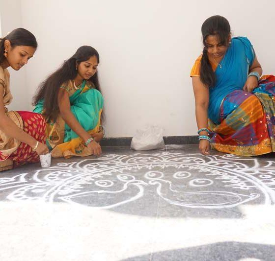 Karpagam Architecture - Pongal Celebration