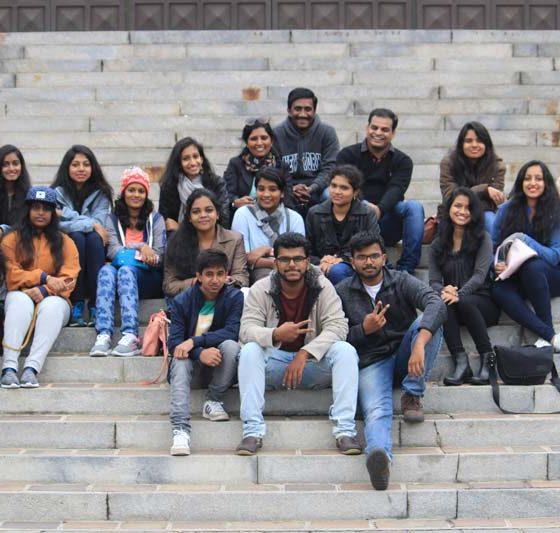 Karpagam Architecture Intern trips - Fun Moments