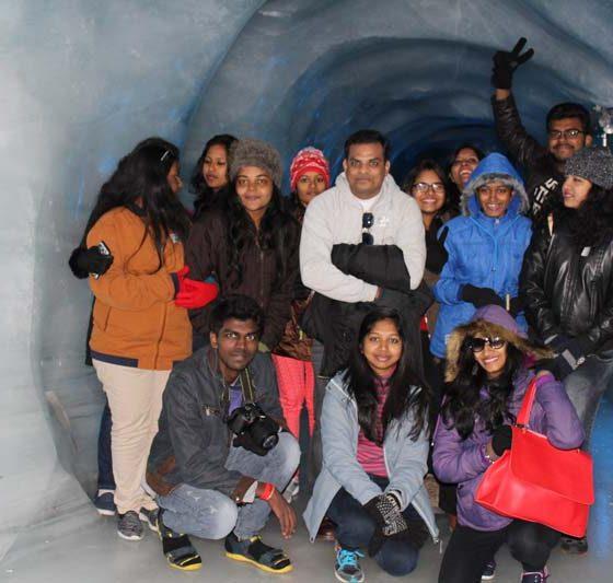 Karpagam Architecture Intern trips - Team