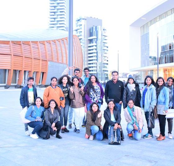 Karpagam Architecture Intern trips - Group Fun