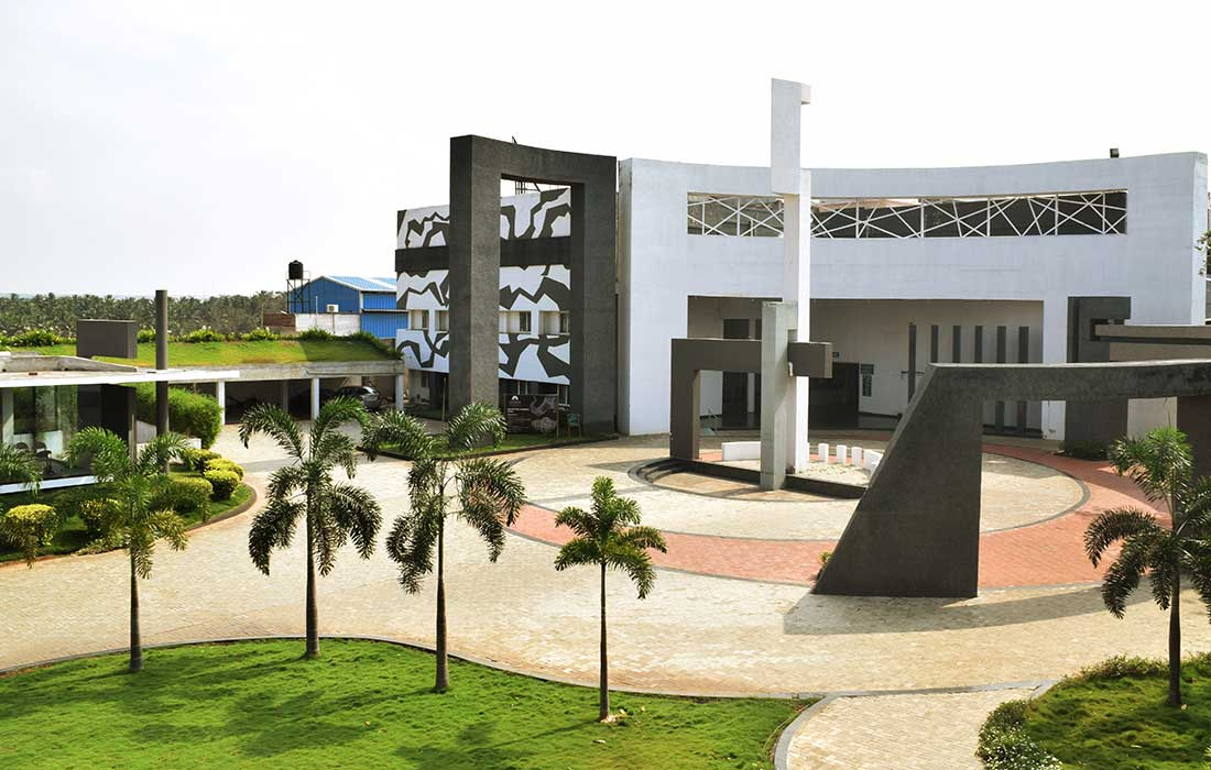 Karpagam Architecture College Outter Look - india's best architecture college