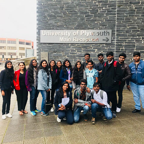 Industrial Visit - University of Plymouth
