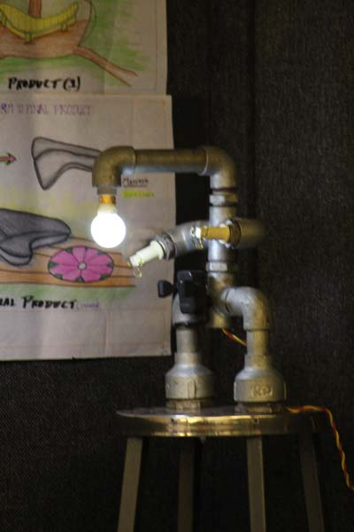 Student Creative Idea from Pipe Lights